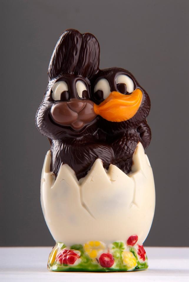 Шоколадово зайче и пате